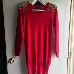 rue21 Sequined Sweater Dress/Tunic